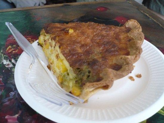 Passion Pie Cafe : Quiche