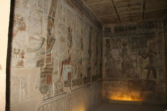 Tomb of Sennedjem: Walls of the Temple Deir el - Medina