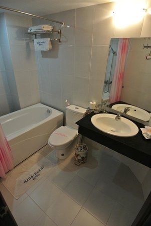 Hanoi Holiday Diamond Hotel: Bathroom