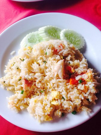 Patong Seafood: Crab fried rice