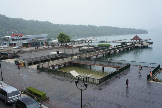 The Crystal Resort Sun Moon Lake: 伊達邵碼頭