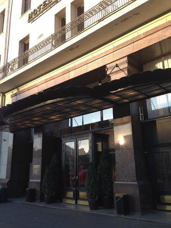 Hotel Metropol Moscow : Eingang