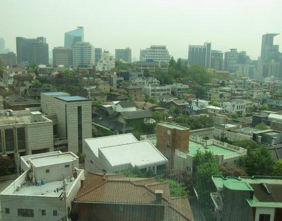 Novotel Ambassador Seoul Gangnam: View over suburban Gangnam