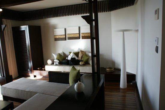 Le Cardinal Exclusive Resort: Wohnraum der Penthousesuite