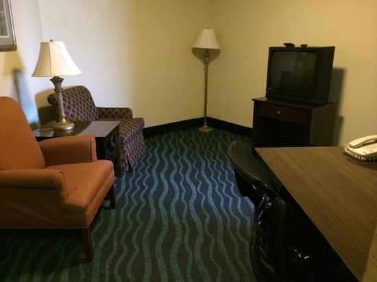 """La Quinta Inn & Suites Goodlettsville - Nashville: """"Living"""" area."""