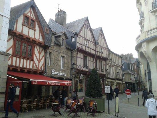 Centre Historique de Vannes : Центр города