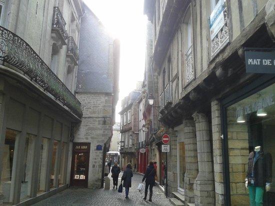 Centre Historique de Vannes : Улочки