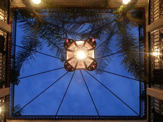 Riad La Porte Rouge : Toit du riad !