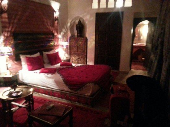 Riad La Porte Rouge : Chambre warda