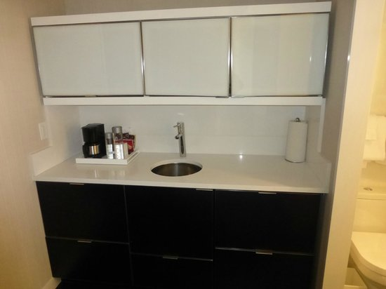 "Residence Inn New York Manhattan/Central Park: ""Kitchen"" area, appliances in all cupboards"