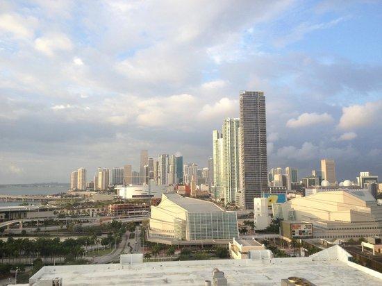 Hilton Miami Downtown: panorama mozzafiato
