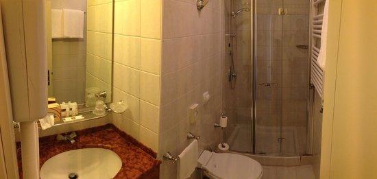 Hotel Gardena : Bad Zimmer 25