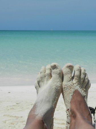 Iberostar Ensenachos : Vista de la playa maravillosa, con aguan calma y calentita.
