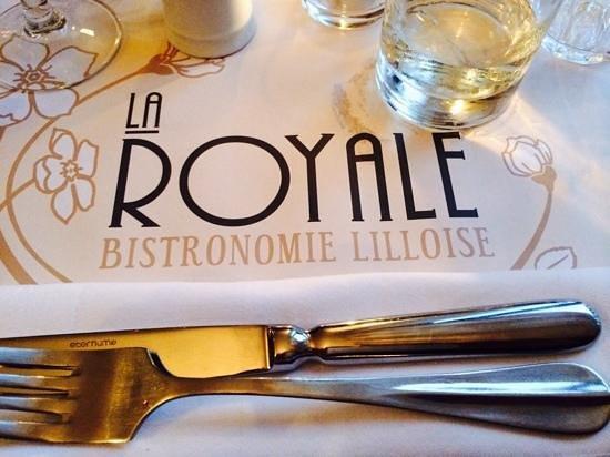 La Royale : placemat