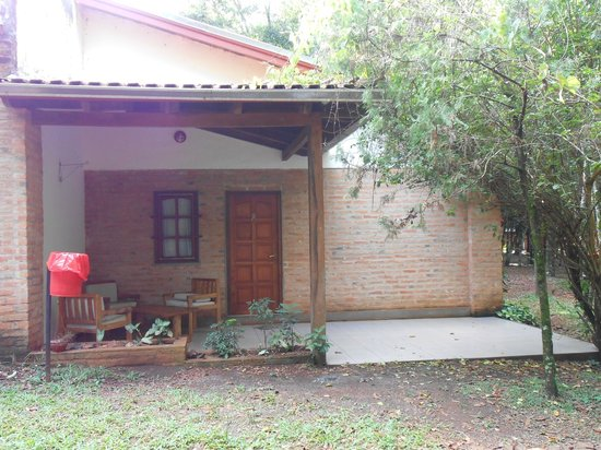 Cabanas Del Lenador Hotel: La cabaña x fuera