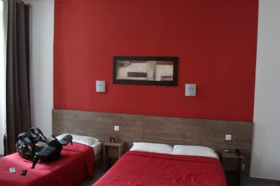 Hotel Riviera : La chambree triple