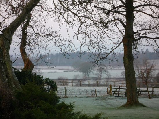 BEST WESTERN Dryfesdale Country House Hotel: A winter's view - Dec 2008
