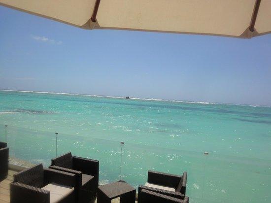 Club Med Punta Cana : vue du bar de la plage