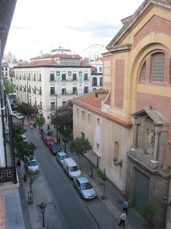 NH Collection Palacio de Tepa: View from Room 416
