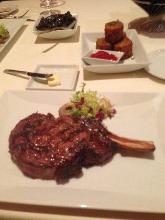 M Resort Spa Casino: Anthony's Bone-In Ribeye with Tater Tots