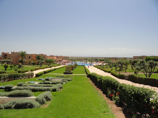 Marrakech Ryads Parc & Spa: jardin