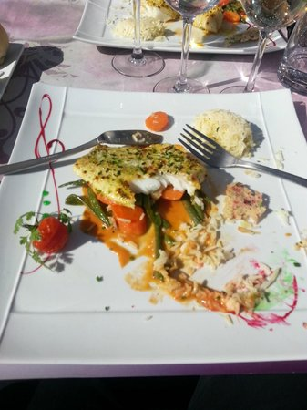 Le sweet restaurant : poisson