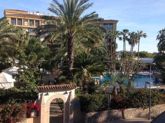 Estrella Coral de Mar Resort Wellness & Spa : Vista de la habitación donde se ve el hotel Estrella del Mar