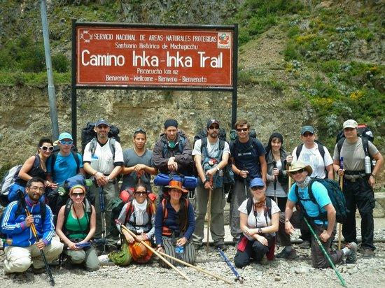 Camino Inca: hay equipo!!!!
