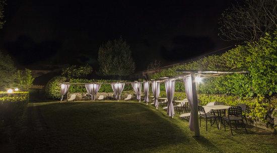 Villa Bonadea: Portico Notturno