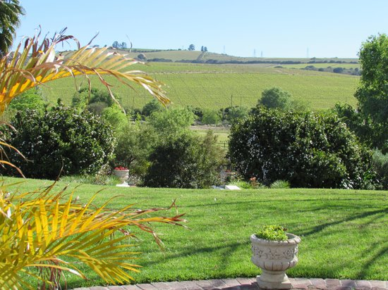 Sanddrif Guest Farm: View From The Porch Where We Had Breakfast