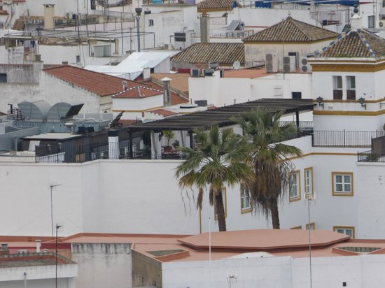 Vincci La Rabida Hotel : L'hôtel depuis la cathédrale