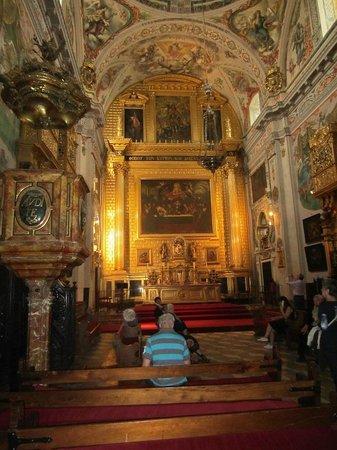 Hospital de los Venerables : intérieur église baroque