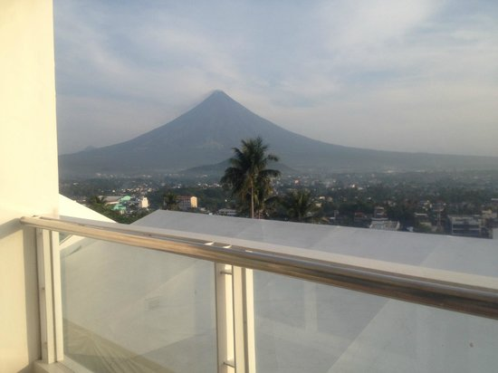 The Oriental Legazpi: view from room