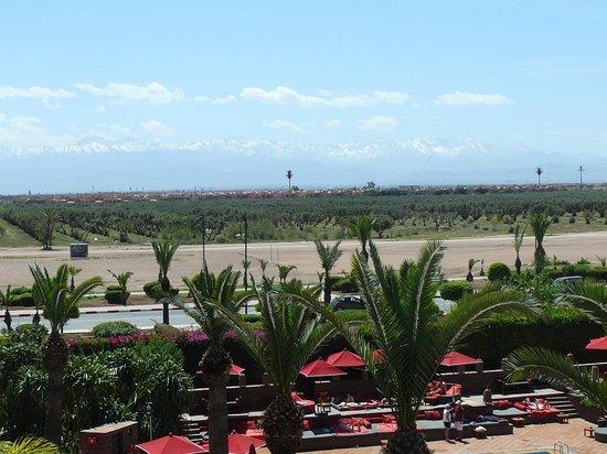Sofitel Marrakech Palais Imperial: Vue de l'Atlas