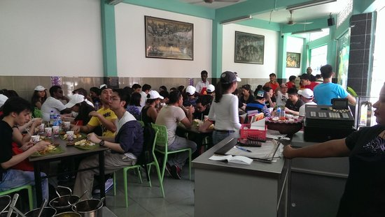 Selvam : crowded for the food