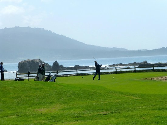 17-Mile Drive: Pebble Beach Golf and Carmel across the water