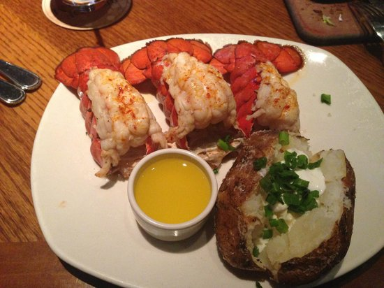 Outback Steakhouse : Delicious Lobster Tails...