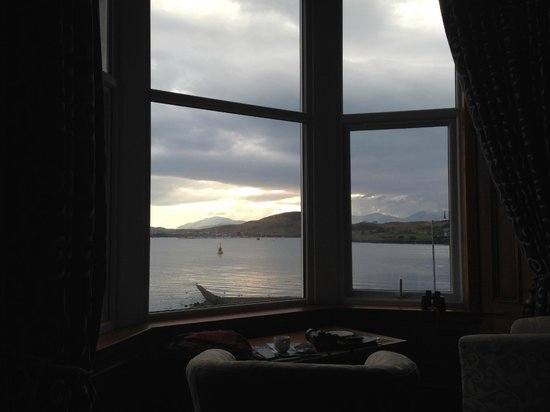 Kilchrenan House: amazing view from room