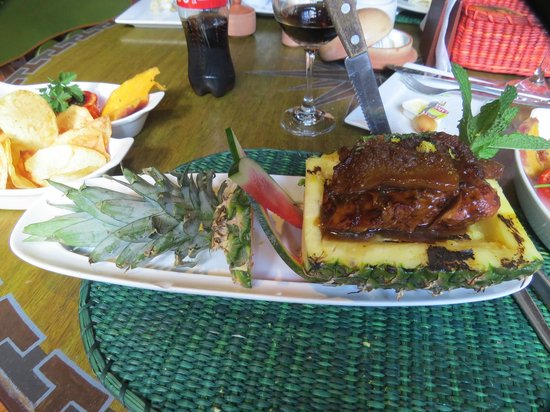 Kuoda Travel: Even the food is beautiful in Aguas Calientes!