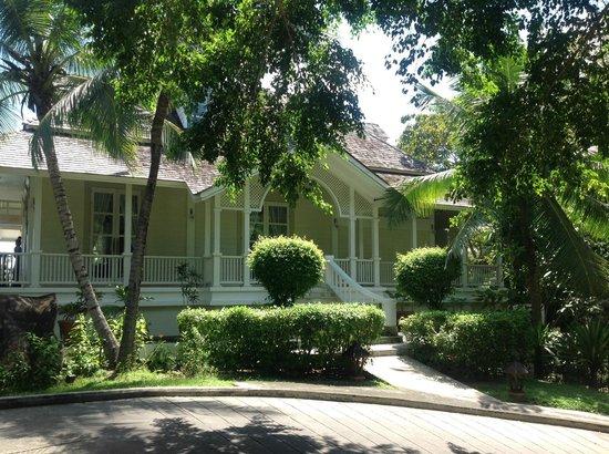 Banyan Tree Seychelles: Haupthaus