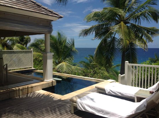 Banyan Tree Seychelles: Pool Villa by the rocks 209