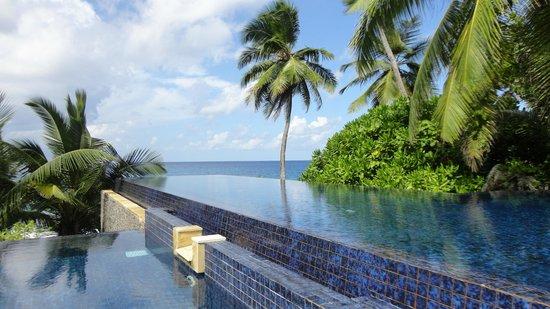 Banyan Tree Seychelles: Hauptpool
