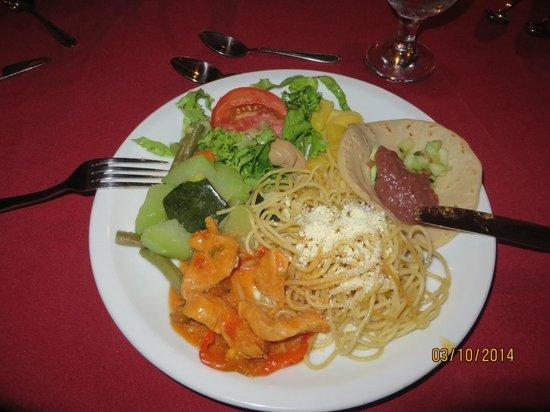 Evergreen Lodge: Dinner