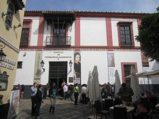 Hospital de los Venerables : l'hopital vu de la place