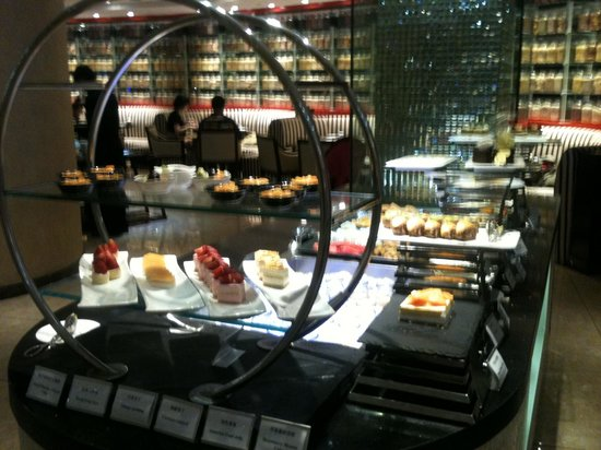 Grand Park Kunming : le buffet de dessert