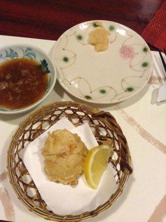 Shinjuku Tsunahachi Sohonten: Scallops that are big enough for 2