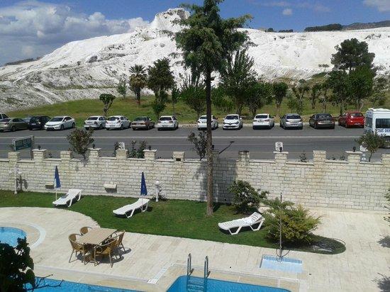 Hal-Tur Hotel : manzara