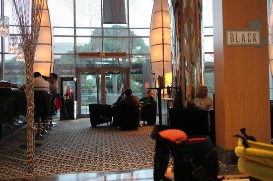 Calista Luxury Resort: Black bar