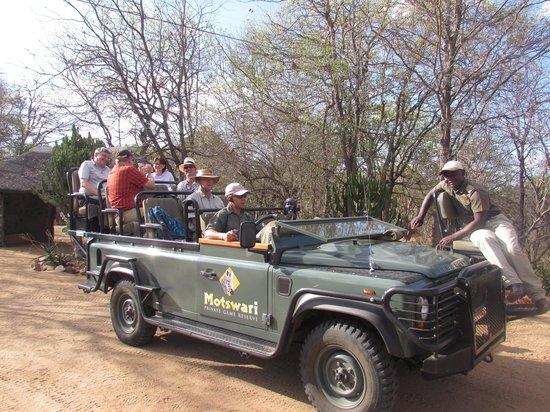 Motswari Private Game Reserve: The Safari Jeep