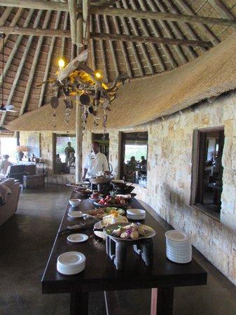 Motswari Private Game Reserve: Breakfast